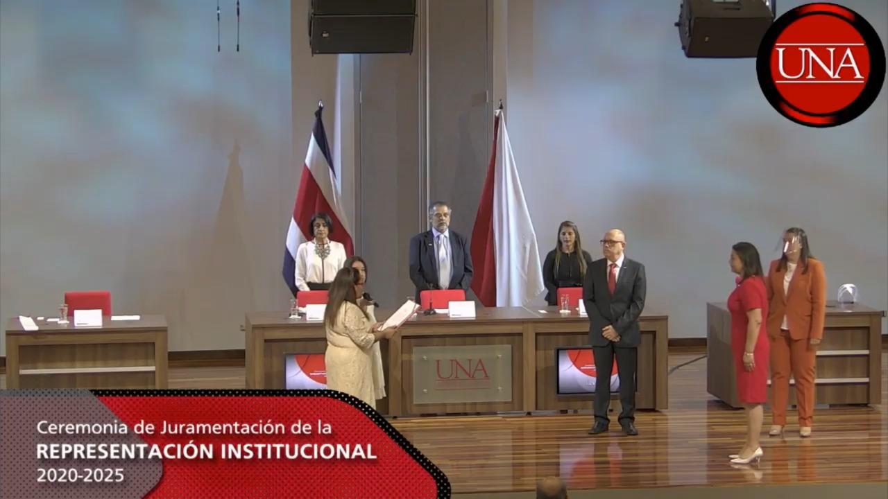 RECTORA ADJUNTADr. Marianela Rojas sworn in as Associate Rector of the National University of Costa Rica